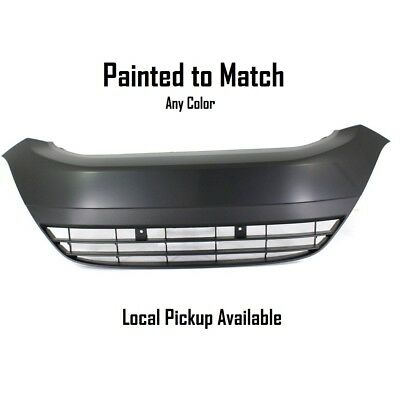 Painted to Match Bumper Grille For 2010-2014 Honda Insight Center Plastic