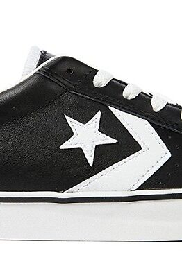 NIB Converse Pro Leather Vulc Ox Leather Black   White 136791C US Mens 11 d37b60a71