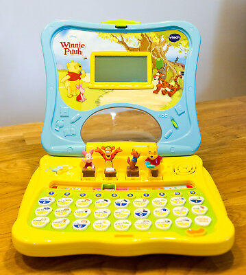ABC-Laptop Winnie Puuh, Lerncomputer von vtech / Computer