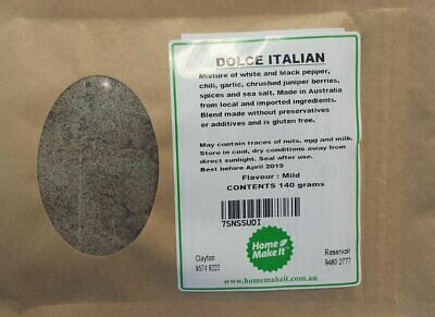NEW DOLCE ITALIAN - Spice Recipe Pack