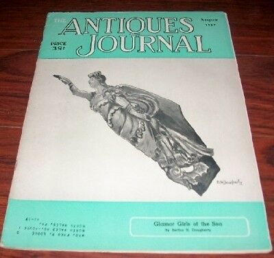The Antiques Journal Aug. 1957 Glamor Girls of the Sea