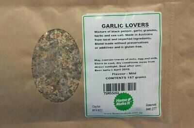 NEW GARLIC LOVERS - Spice Recipe Pack