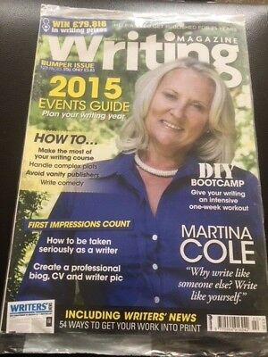 Writing Magazine February 2015 Martina Cole How to be Seriously as a writer