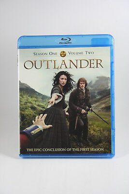 Outlander:  Season One Volume Two [Blu-ray] BRAND NEW Diana Gabaldon Sealed