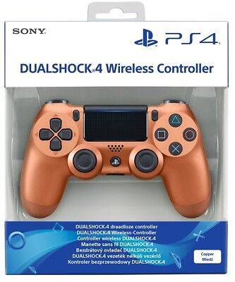 Controller Sony Wireless Ps4 Copper V2 Dualshock 4 Pad Playstation 4 Joystick