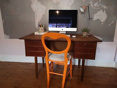 Vintage Mid Century Danish Desk GOING TO AUCTION SHORTLY make an offer now!