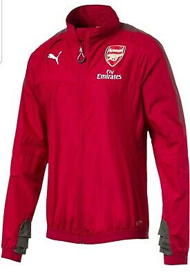 bad477bb4289 PUMA ARSENAL GUNNERS AFC Soccer Stadium Vent Thermo-R Jacket Men s ...