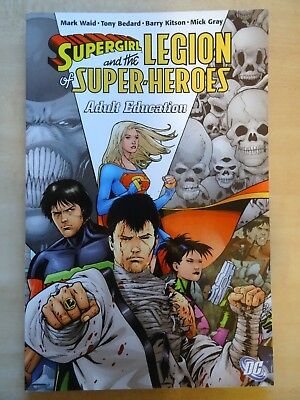 SuperGirl and the Legion of Super Heroes Adult Education DC Comics Softcover New