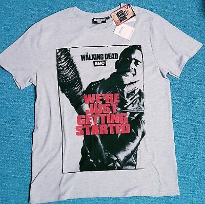 AMC The Walking Dead T-Shirt Gr. L Negan Neu