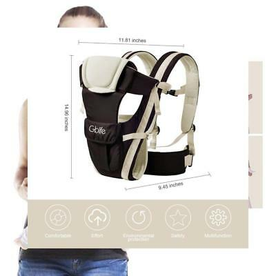 8c95bc53268f GBlife Porte Bébé Ergonomique Multiples Positions Multi-fonctions Mains... 1  ...