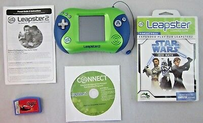 new leapster l max learning system handheld tv leapfrog game console rh picclick com LeapFrog Leapster 2 Rabbit River LeapFrog Leapster 2 Rabbit River