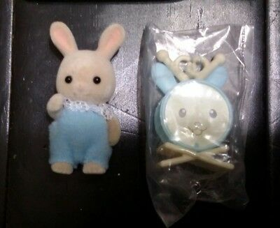 Epoch Calico Critters Collectible Band Series Sweatpea Rabbit Baby Bunny Drums