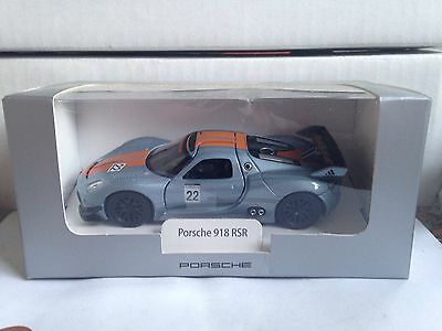 PORSCHE 918 SPYDER RSR RACE CAR 1:43rd LIMITED EDITION MODEL MINICHAMPS NEW