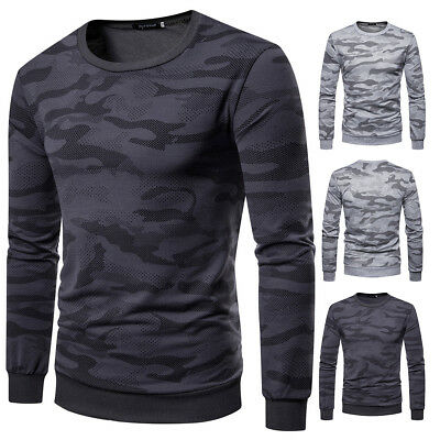 Men's Winter Warm Slim Fit O Neck Long Sleeve Muscle Casual T-shirt Tops Blouse
