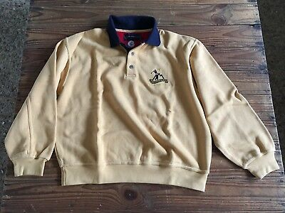 Used - Golf Polo Shirt DACHSTEIN TAUERN Polo Golf - Manga larga - Color amarillo
