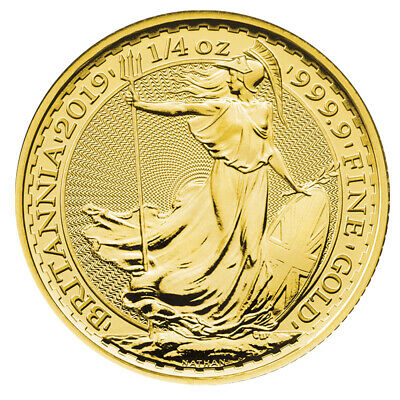 1/4 oz Gold Britannia 2018 - 25 Pounds Großbritannien Goldmünze 999,9