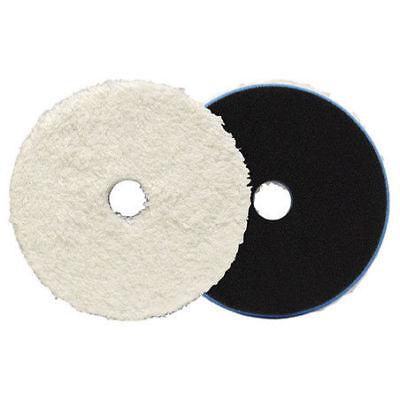"Lake Country Microfibre Heavy Cutting HD Orbital Pad 6.5"" Free UK Shipping"