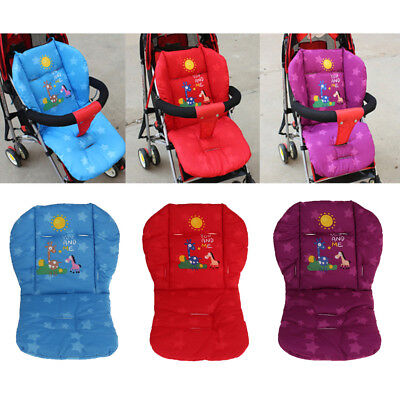 Universal Baby Stroller Seat Liner Kids Car Seat Cushion Cotton Padded Cushion