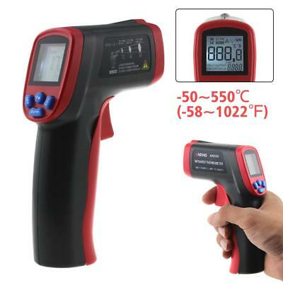 AN550 Handheld Non-Contact LCD IR Laser Infrared Digital Temperature Thermometer