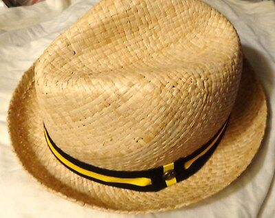 Bacardi Rum - Cuban Style Straw Hat - Dress Hat - Hipster Hat....NEW