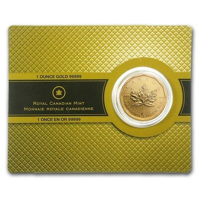 1 oz Gold Maple Leaf 2009 - 200 Dollar Kanada Goldmünze 99999 (5x9) im Blister