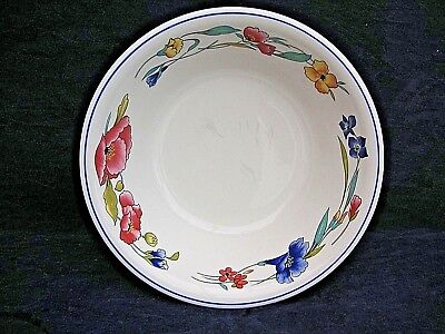 beautiful Wood And Sons Alpine Meadow 1 salad / serving bowl