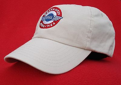 Northwest Airlines Retro 1941 Logo ball cap low-profile hat - stone (lt. tan)