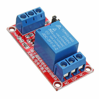 24V 1 Channel Level Trigger Optocoupler Relay Module For Arduino