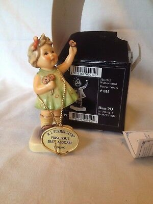 "Hummel Goebel ""Forever Yours"" Figurine No 014 Hum 793 in Box 1966 TMK 7"