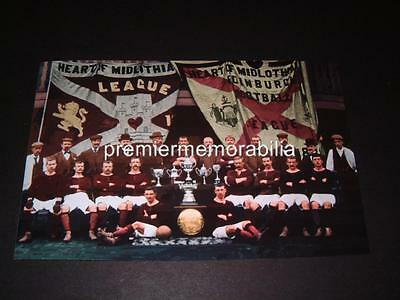 Heart Of Midlothian Fc 1896-97 Scottish Cup + Champions Photograph