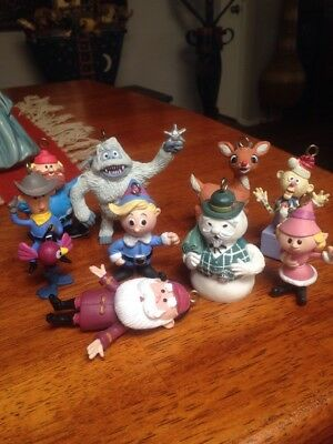 Rudolph Co Lot Of 9 The Misfit Toys Rudolph Elves Christmas Ornaments More