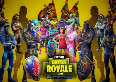 FORTNITE GAME Photo Poster Print 260 gsm A3..A4 A5 Options