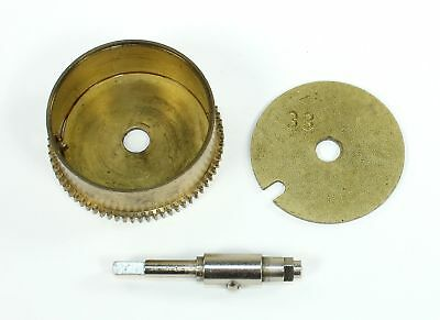 HERMLE #33 MAINSPRING BARREL with POST- CLOCK PARTS - RI84