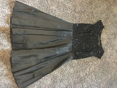 Size 6 Black Homecoming Dress