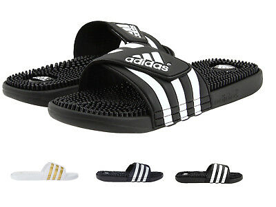 Adidas Originasl Men's Essentials Adissage Slides 3-Stripe Comfort Sandals