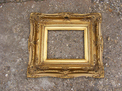 Lovely Vintage Rococo French Antique Style Ornate Gold Gilt Gild Picture Frame