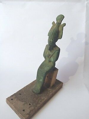 Osiris Egyptian God Bronze Statue Ancient Egyptian civilisation