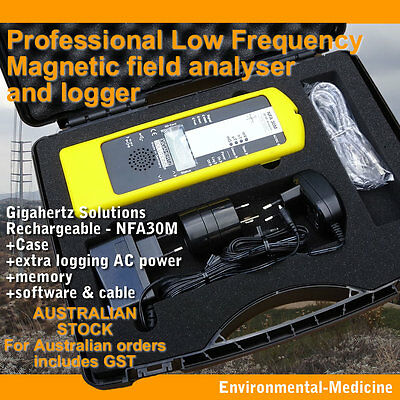 PRO LF Magnetic field analyser and logger(!) NFA30M | Gigahertz-Solutions | EMR