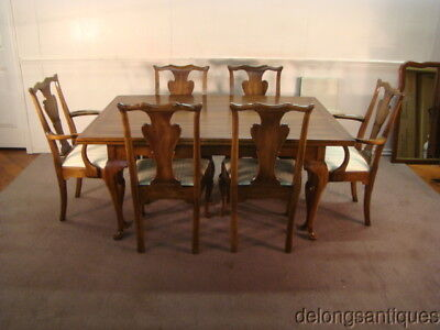 50896:Statton Solid Cherry Dining Table & 6 Matching Chairs