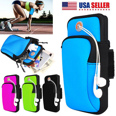 Sports Gym Running Jogging Armband Arm Band Bag Case for iPhone X 8 7 6 Samsung
