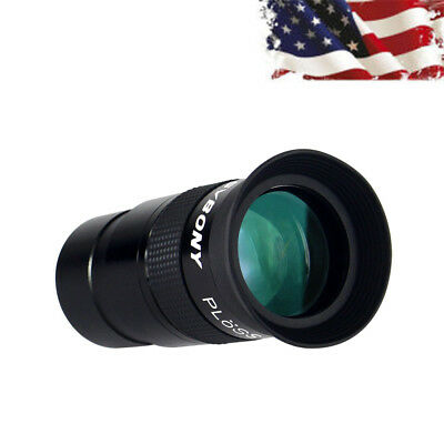 "1.25"" Plossl 40mm Eyepiece Green Coated Metal for Astronomy Telescope US Stock"