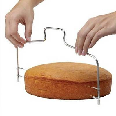 Wire Slicer Cake Cutter Bread Cutting Leveller Decorating Divider Baking Tool