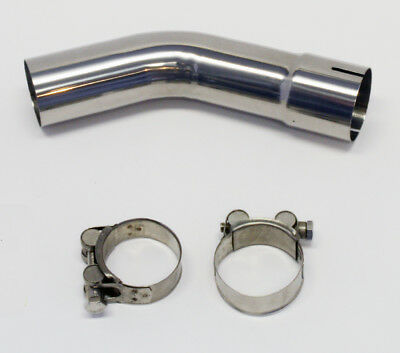 Viper Honda VFR800Fi 97-02 Motorcycle Stainless Steel Connecting Mid Pipe