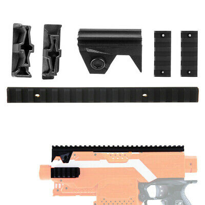 Worker Mod Picatinny Rail Mount Top and Side Combo 4 items For Nerf Stryfe Toy
