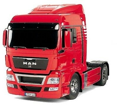 Tamiya MAN TGX Red Edition 1/14 Scale Radio Control Semi Truck Kit TAM56332