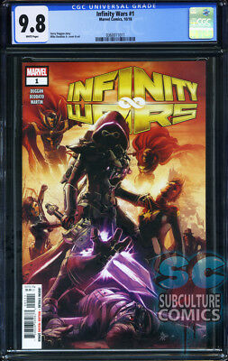 Infinity Wars #1 - First Print - Marvel Comics - Cgc 9.8 - Sold Out - Thanos