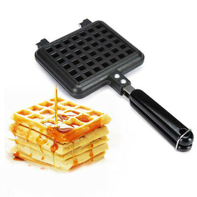 ~Kitchen Baking Tool Home Waffle Mould Non-stick Cake Mould Waffle Baking Pan T1