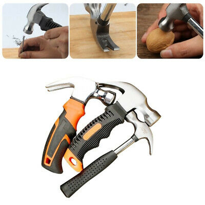 New Mini Multifunction Carbon Steel Woodworking Hammer Tool Small Claw Hammer T1