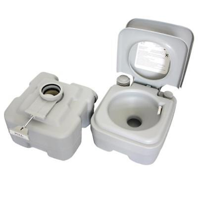 Portable Toilet Flush Travel Camping Outdoor Indoor Potty Commode 10L 20L