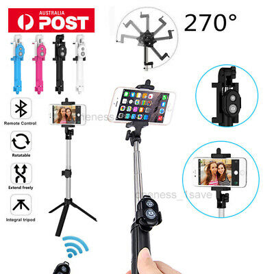 Selfie Stick Tripod Monopod Bluetooth Remote for iPhone XS MAX Iphone XR Huawei